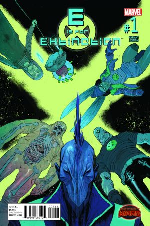 E Is for Extinction (2015) #1 (Harren Variant)