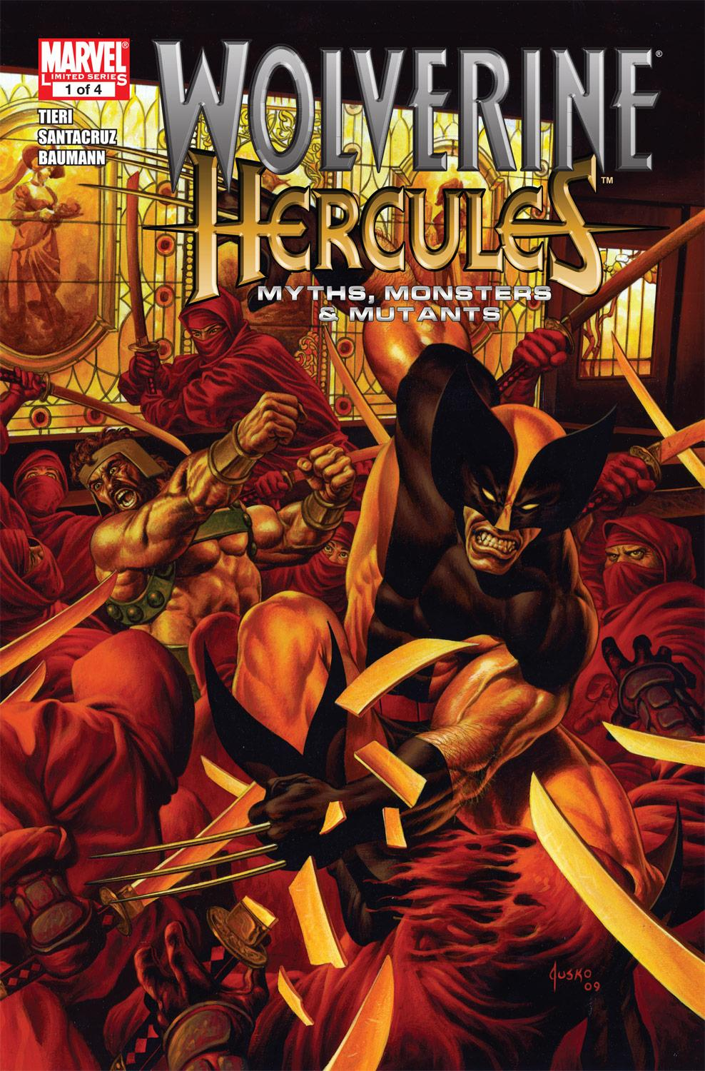 Wolverine/Hercules: Myths, Monsters & Mutants (2010) #1