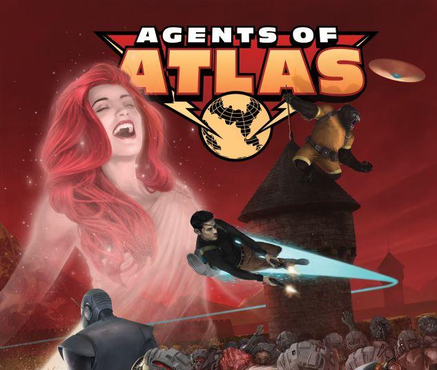 Secret Wars: Agents of Atlas #1 variant cover by Scott 'Rahzzah' Wilson