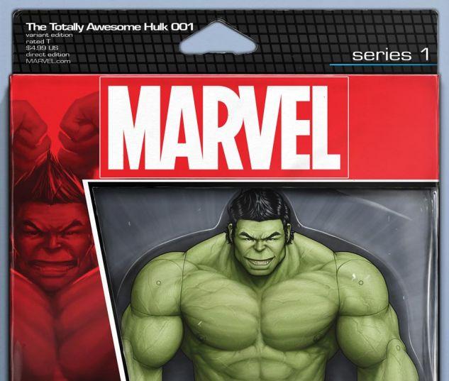 The Totally Awesome Hulk #1 variant art by John Tyler Christopher