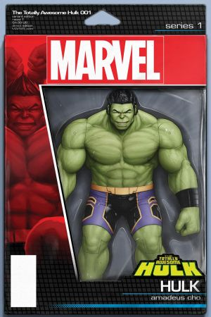 The Totally Awesome Hulk (2015) #1 (Christopher Action Figure Variant)