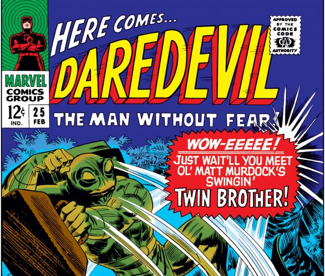 DAREDEVIL (1964) #25 Cover