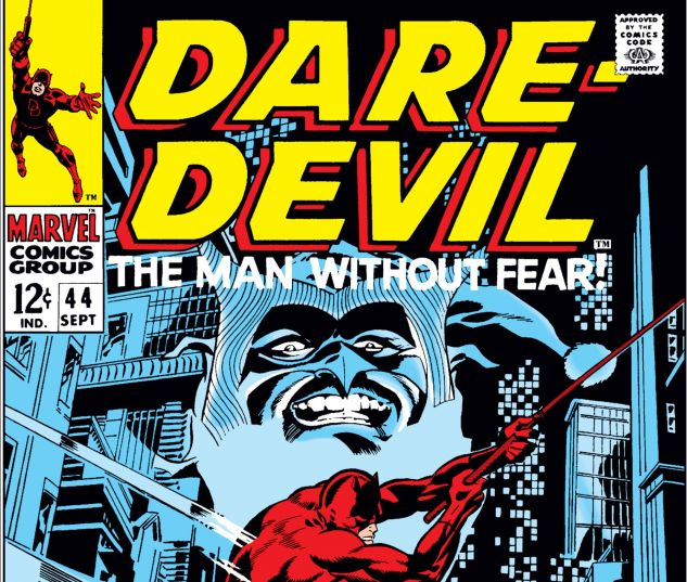DAREDEVIL (1964) #44 Cover