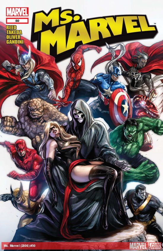 Ms. Marvel (2006) #50