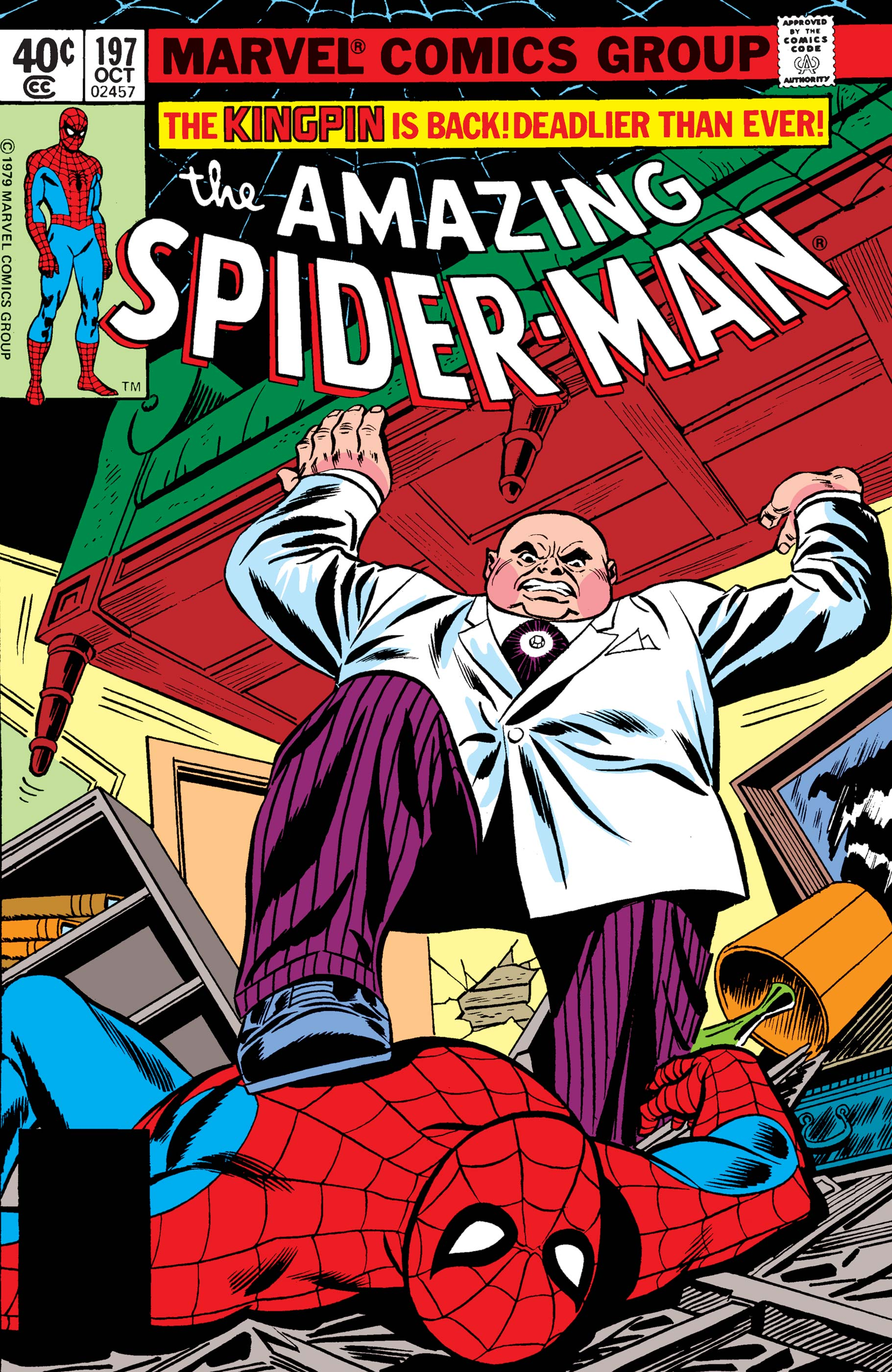 The Amazing Spider-Man (1963) #197