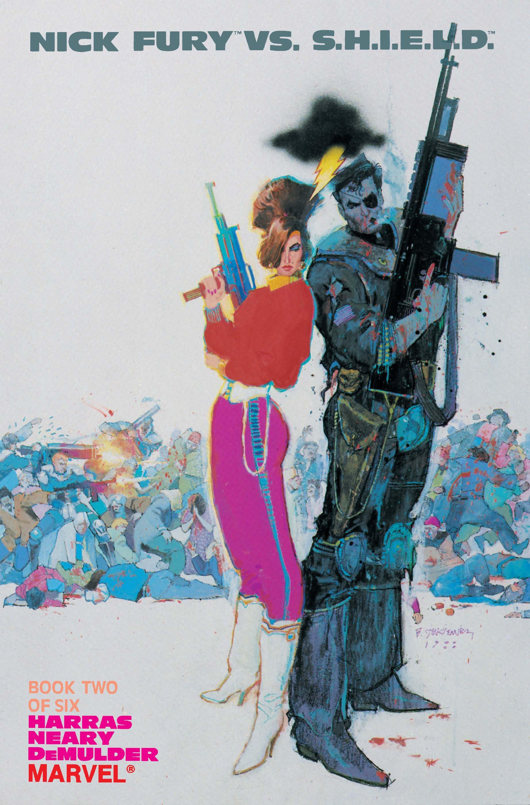 Nick Fury Vs. S.H.I.E.L.D. (1988) #2