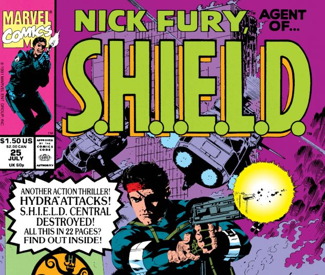 Nick Fury, Agent of Shield (1989) #25