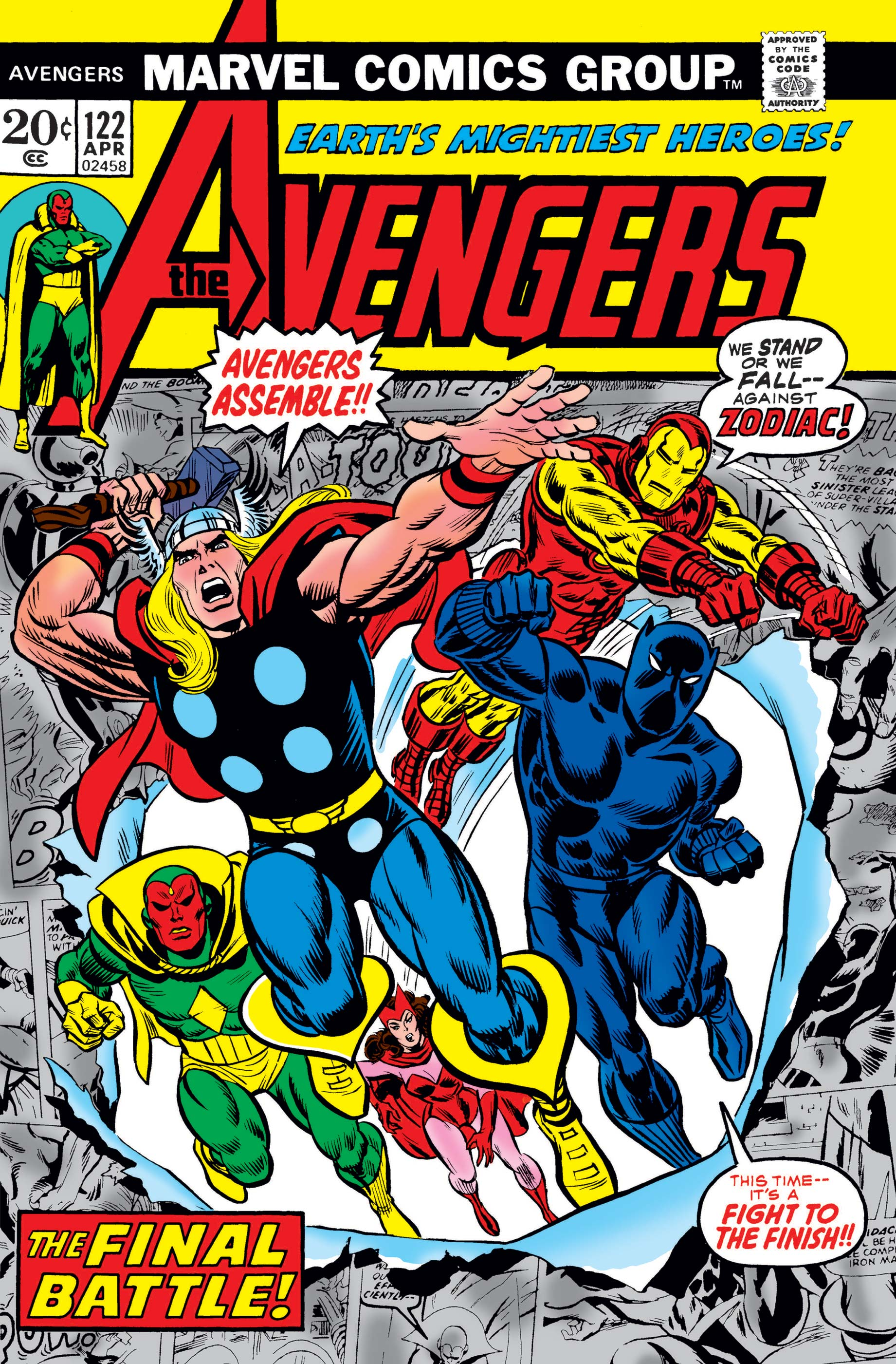 Avengers (1963) #122