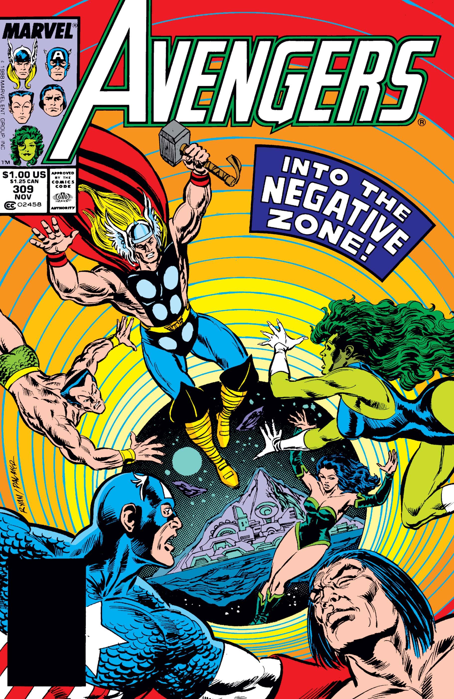 Avengers (1963) #309