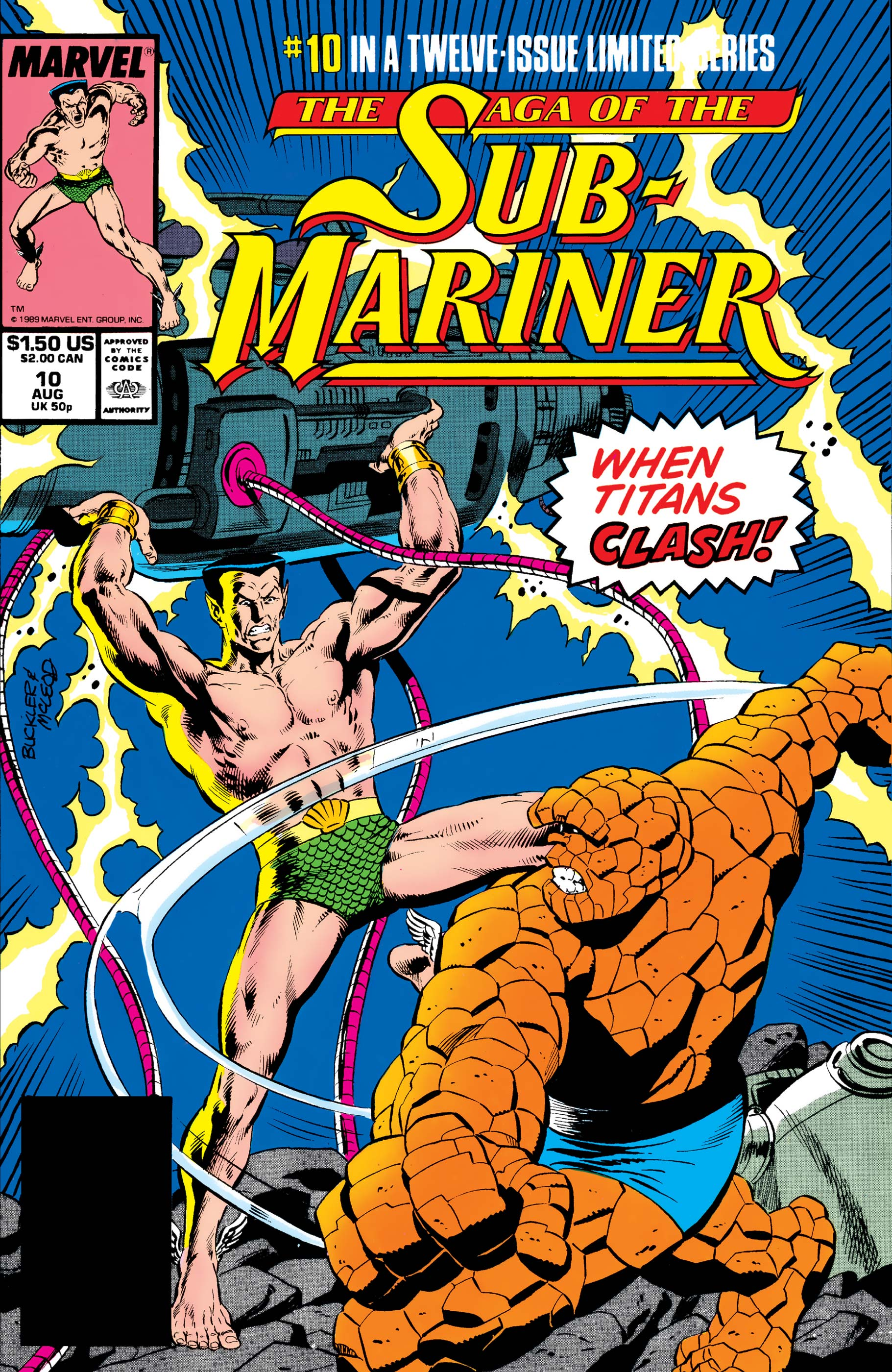Saga of the Sub-Mariner (1988) #10