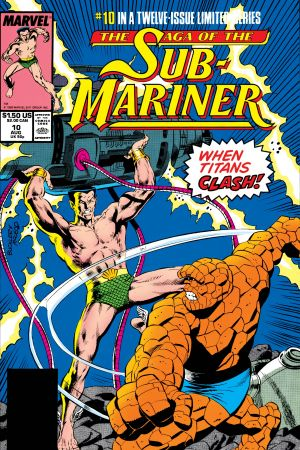 Saga of the Sub-Mariner #10