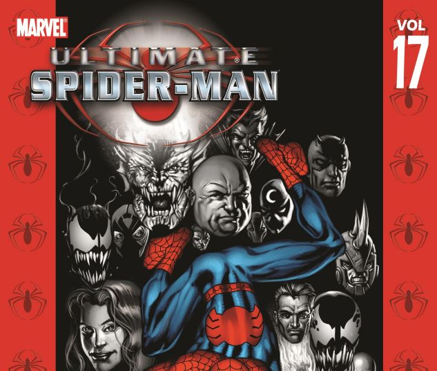 cover to Ultimate Spider-Man Vol. 17: Clone Saga (2007)