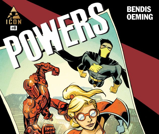 cover from Powers (2015) #8