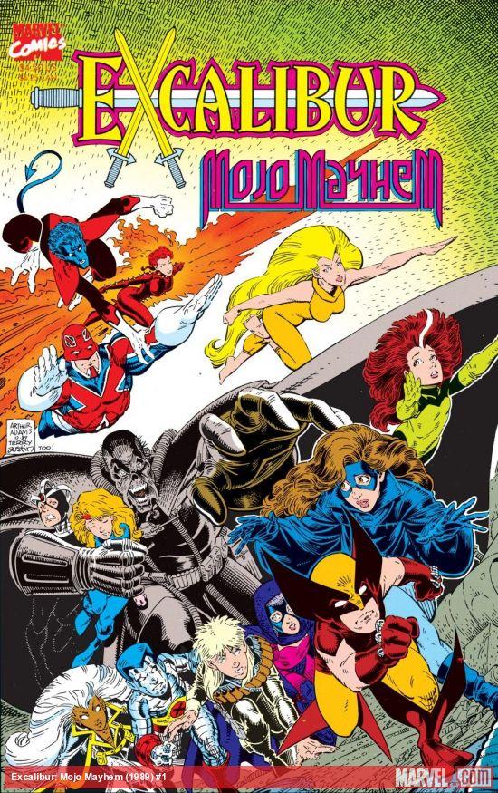 Excalibur: Mojo Mayhem (1989) #1