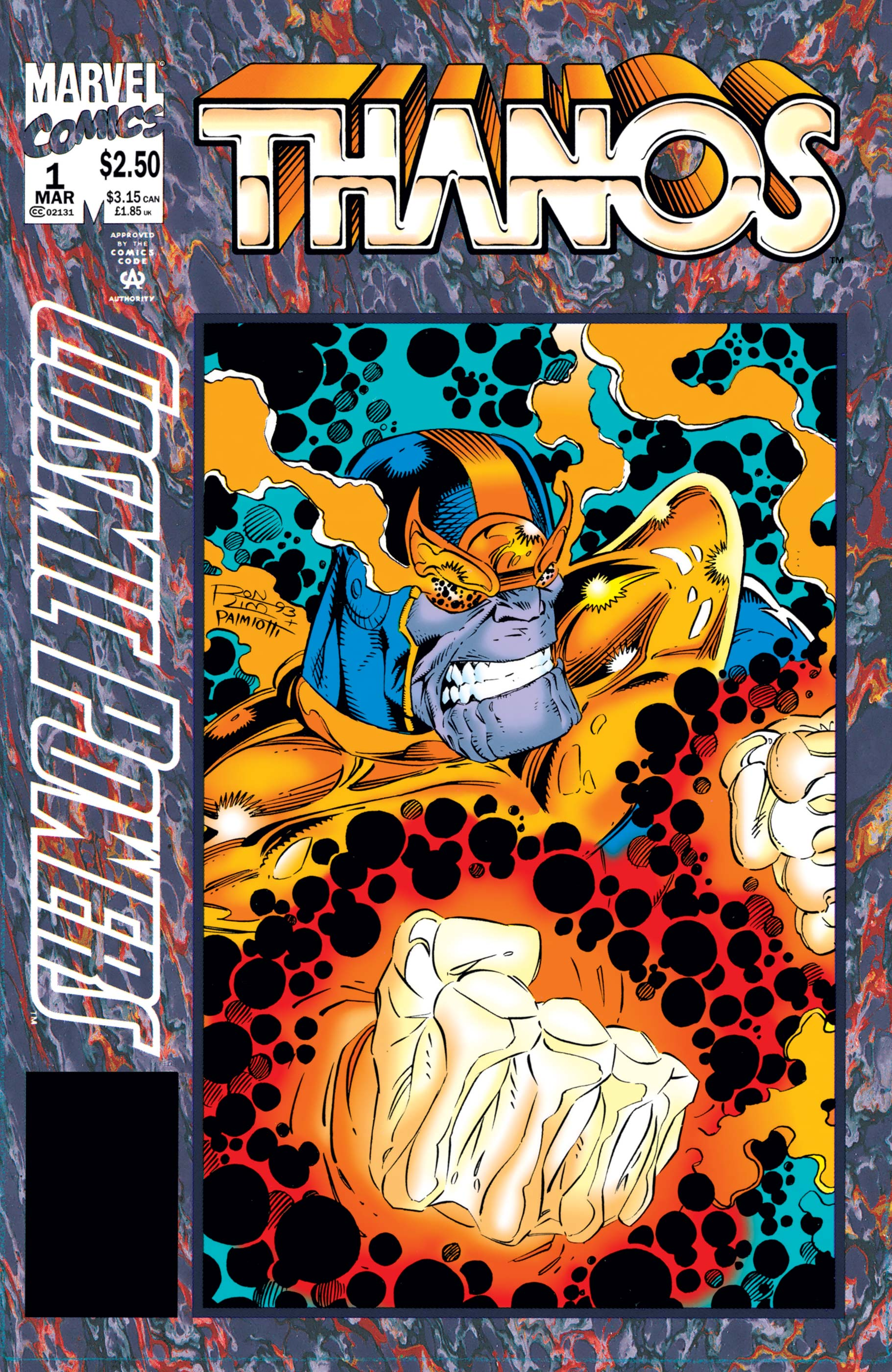Cosmic Powers (1994) #1