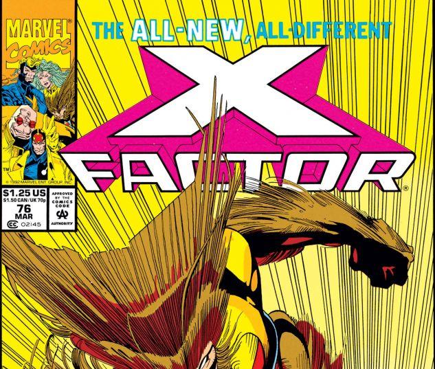 X-Factor (1986) #76