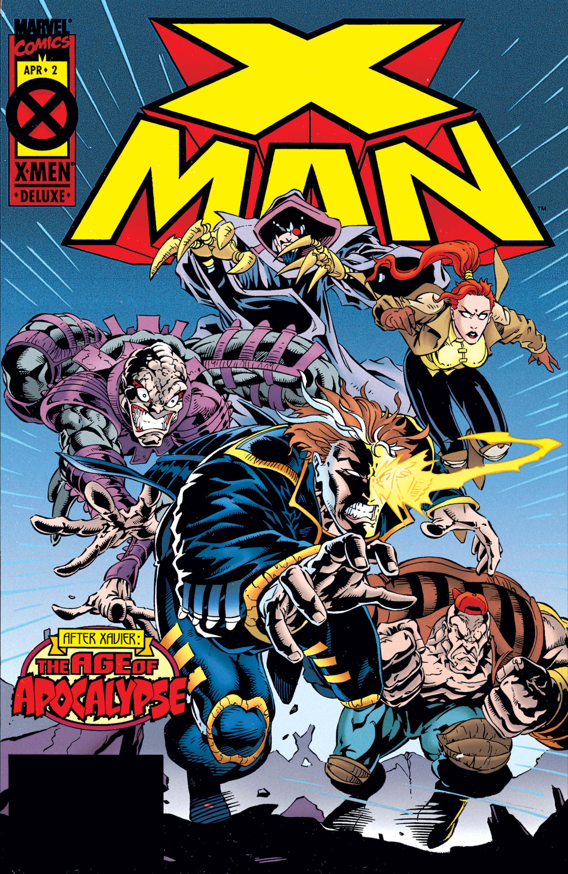 X-Man (1995) #2