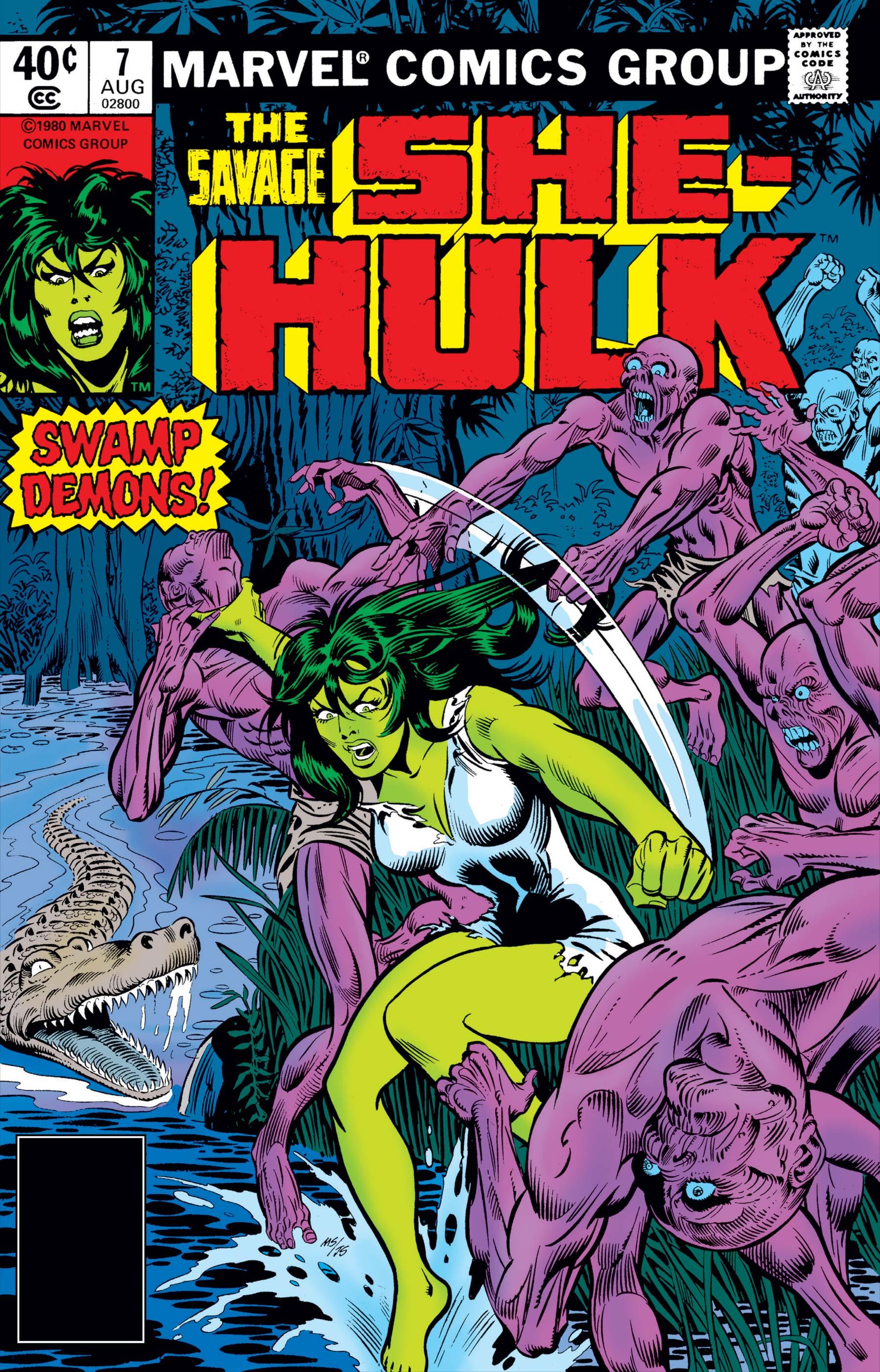 Savage She-Hulk (1980) #7