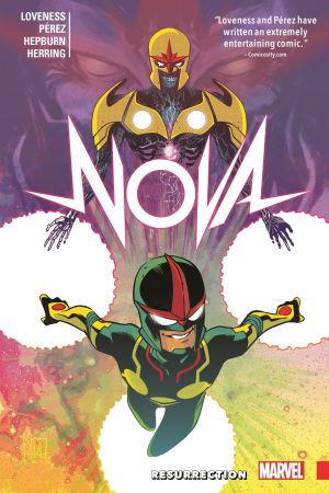Nova: Resurrection (Trade Paperback)