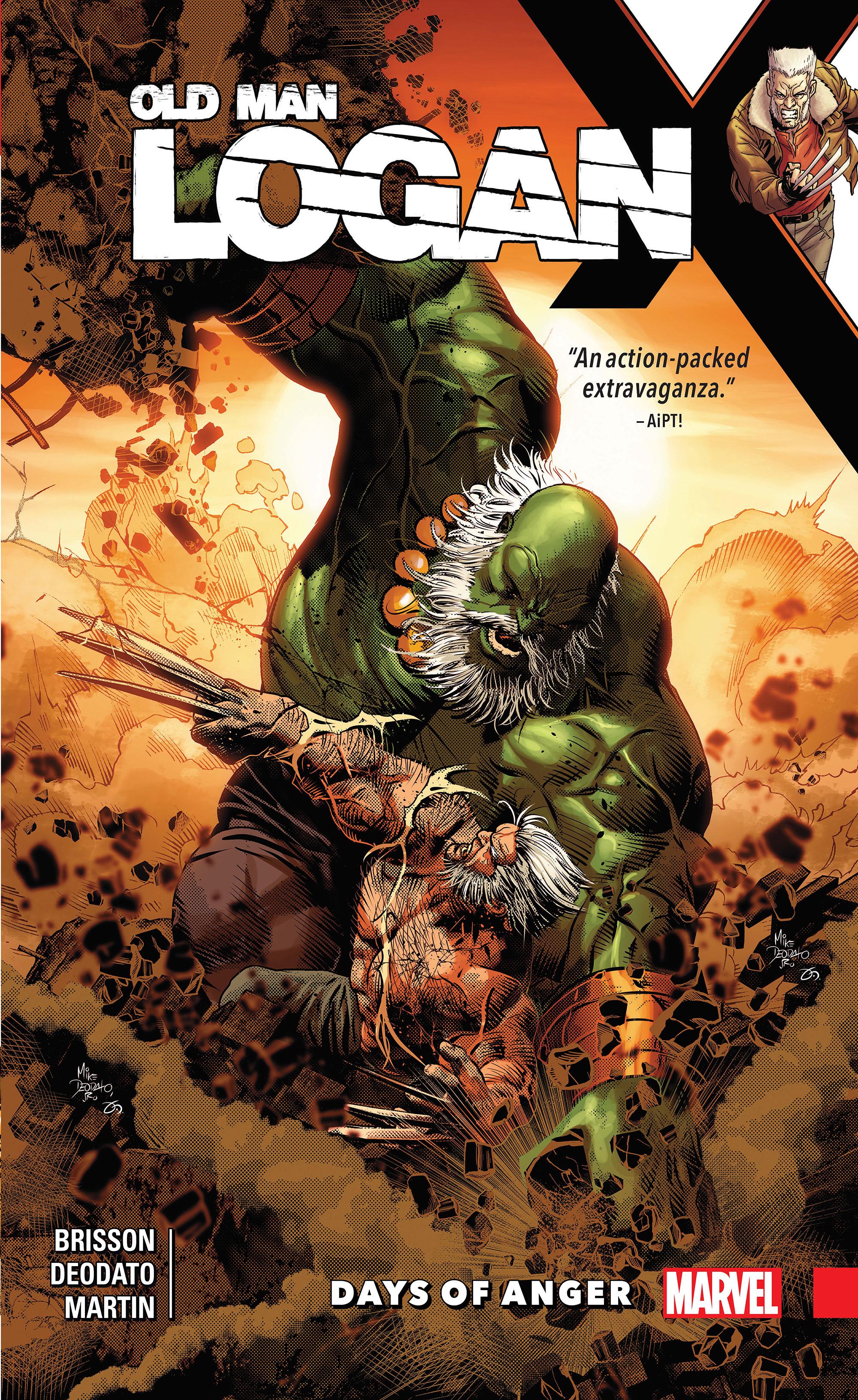 Wolverine: Old Man Logan Vol. 6 - Days of Anger (Trade Paperback)