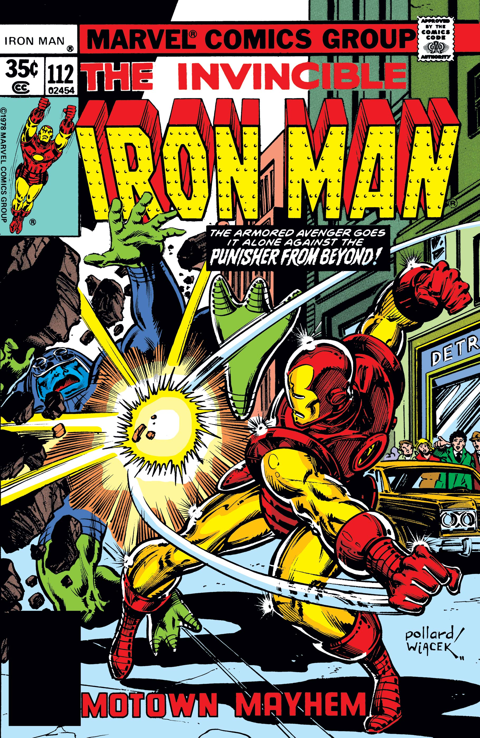 Iron Man (1968) #112