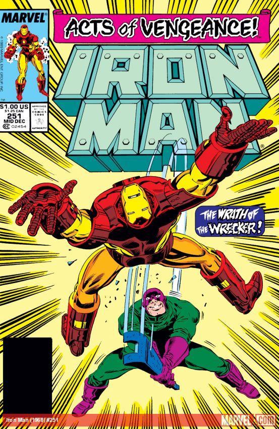 Iron Man (1968) #251