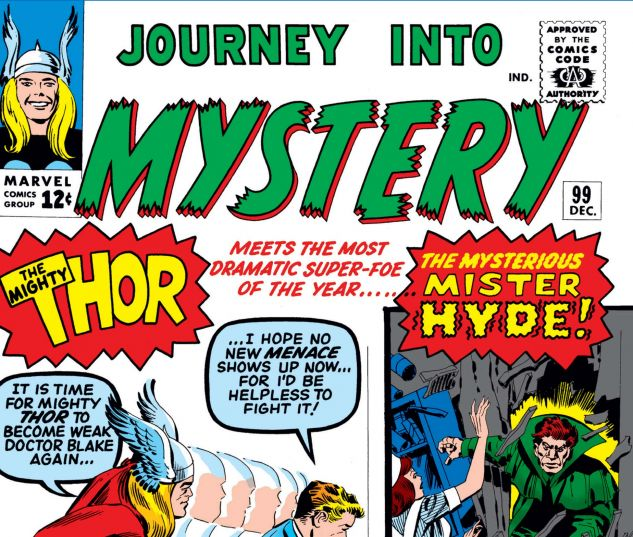 JOURNEY INTO MYSTERY (1952) #99