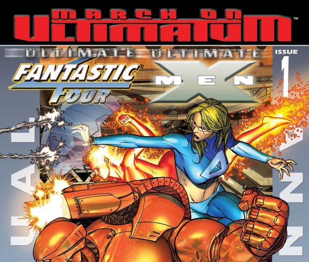 Ultimate Fantastic Four/Ultimate X-Men Annual (2008) #1