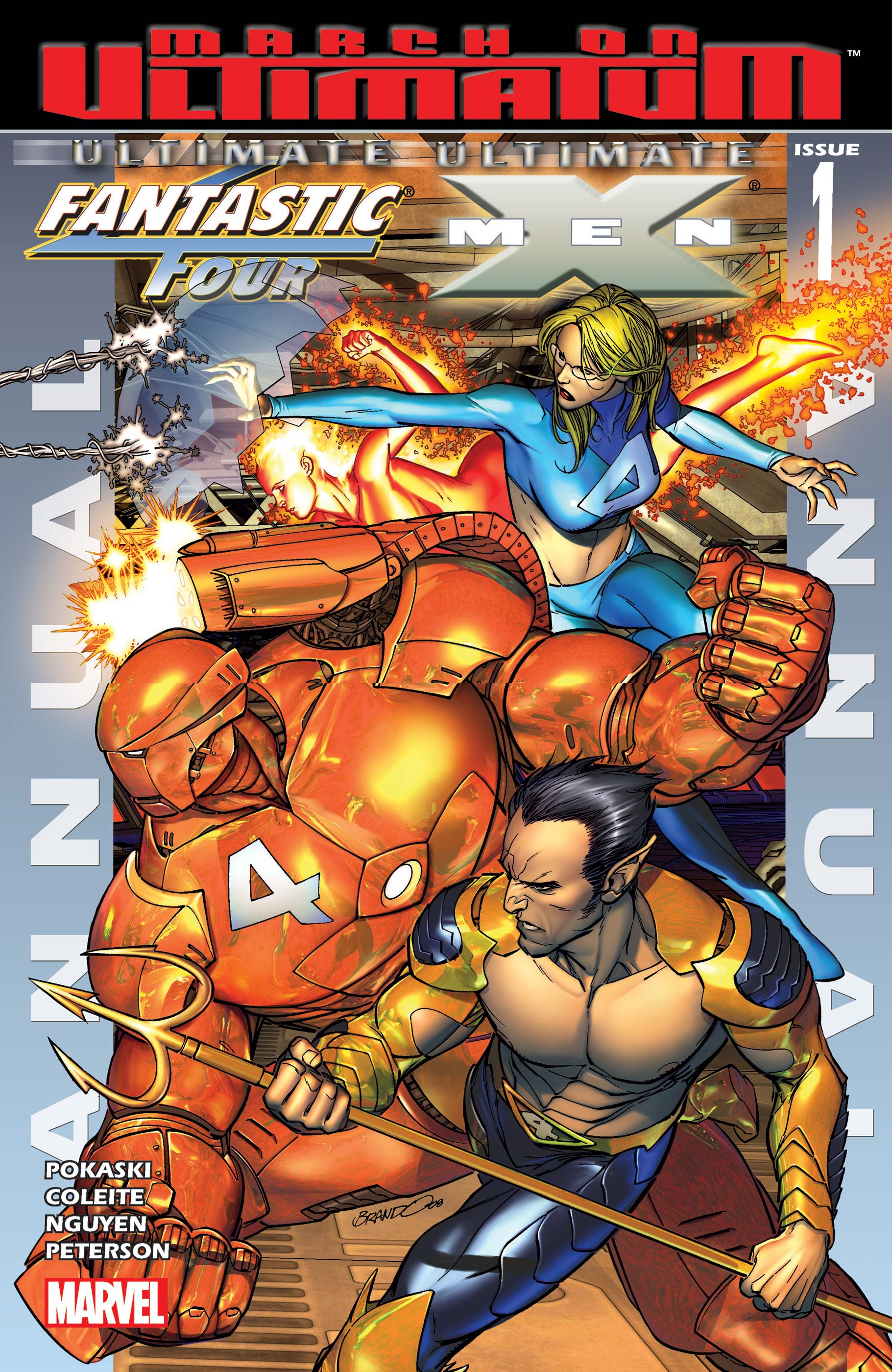 Ultimate Fantastic Four/Ultimate X-Men Annual (2008) #1