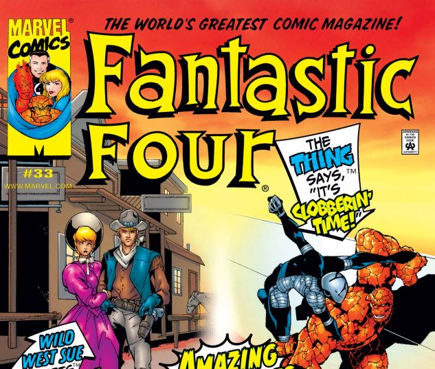 Fantastic Four (1998) #33