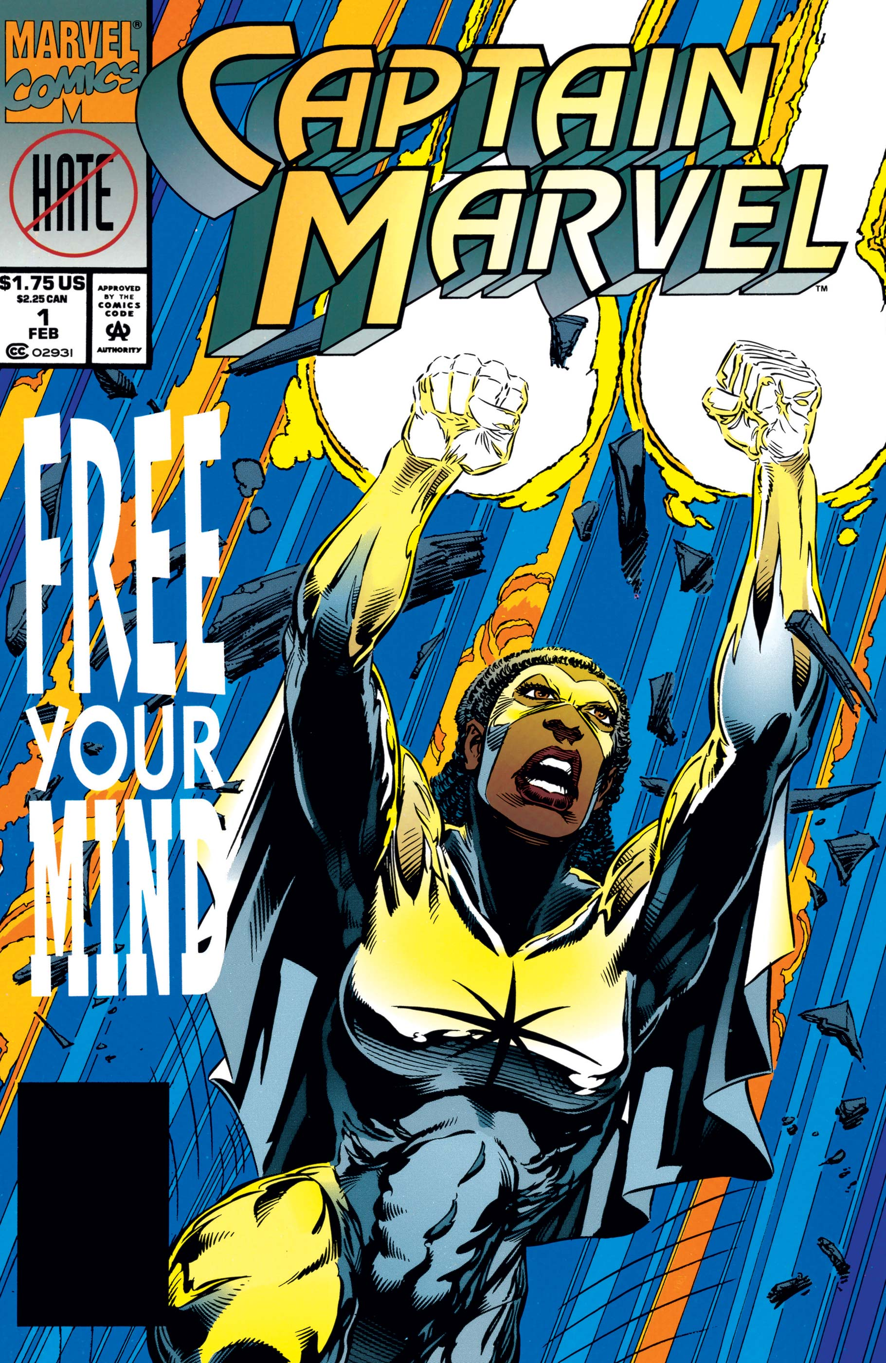 Captain Marvel (1994) #1