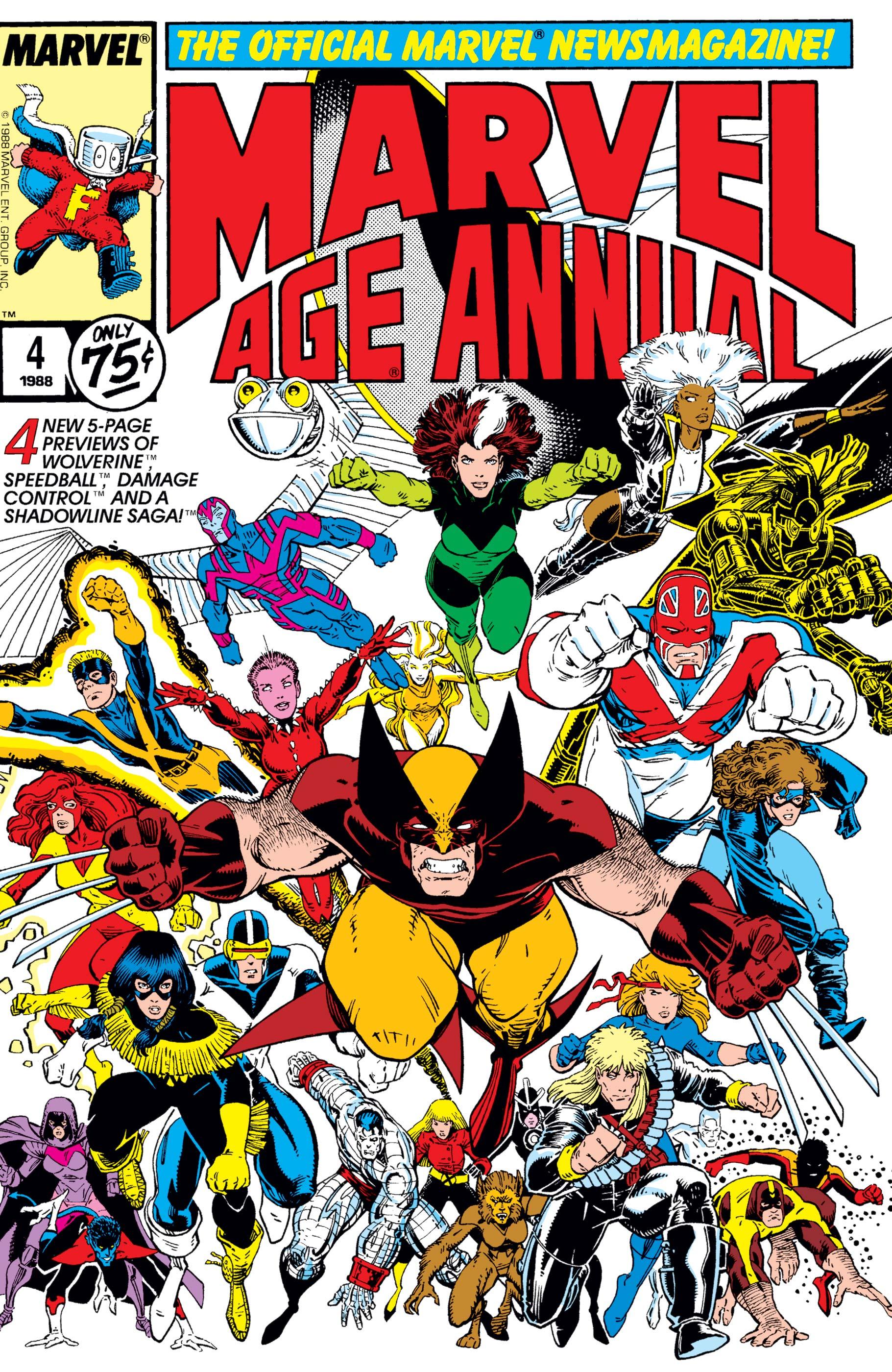 Marvel Age Annual (1985) #4