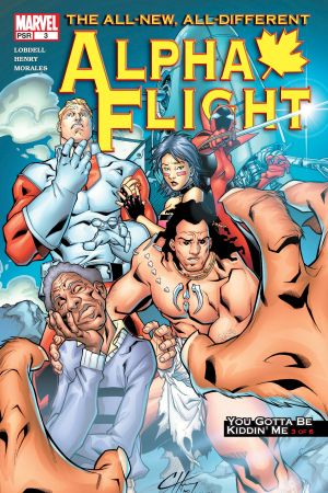 Alpha Flight (2004) #3