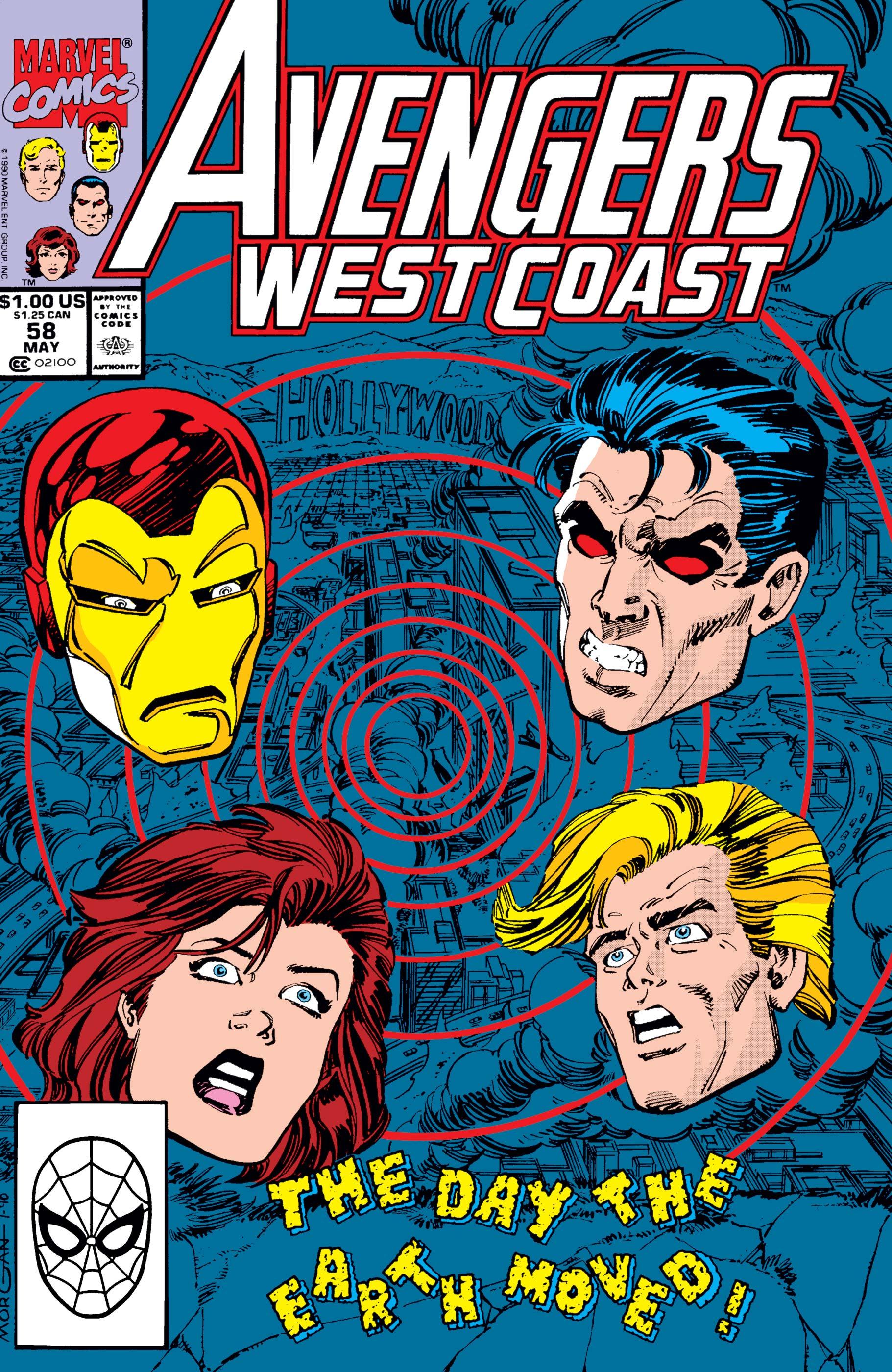 West Coast Avengers (1985) #58