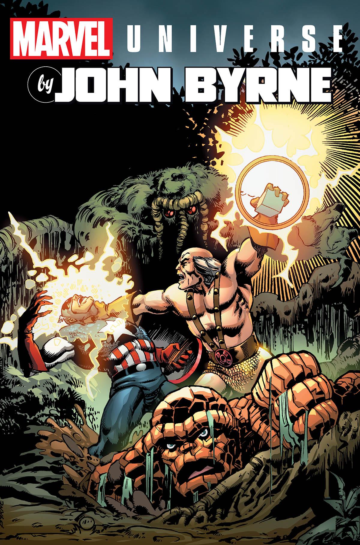 Marvel Universe by John Byrne Omnibus Vol. 2 (Hardcover)