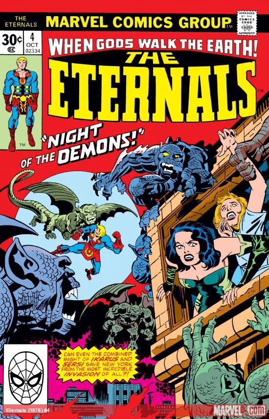 Eternals (1976) #4