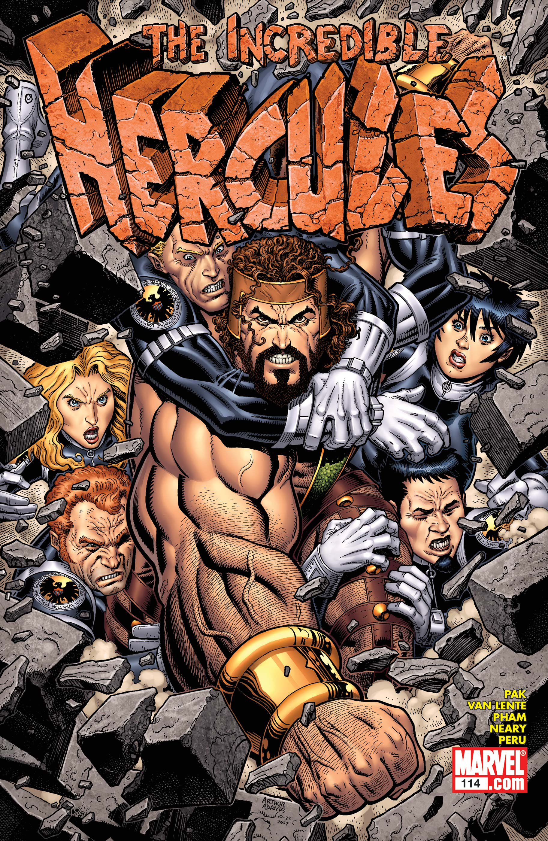 Incredible Hercules (2008) #114