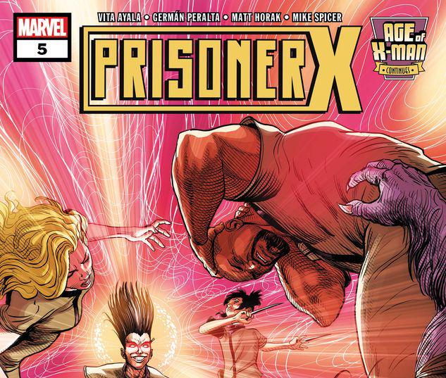 Age of X-Man: Prisoner X #5