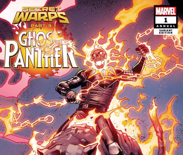 SECRET WARPS: GHOST PANTHER ANNUAL 1 PACHECO CONNECTING VARIANT #1