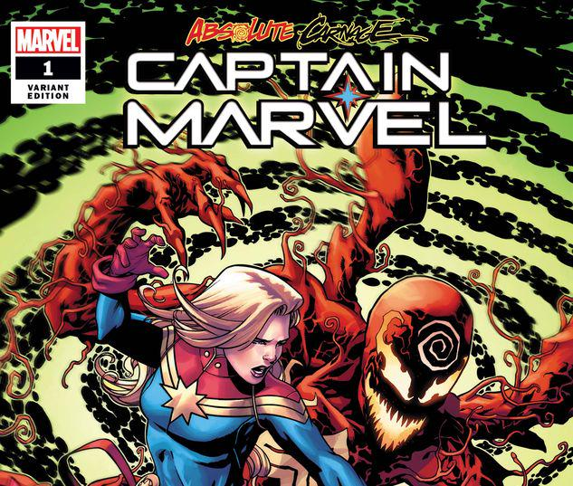 ABSOLUTE CARNAGE: CAPTAIN MARVEL 1 MCKONE VARIANT #1