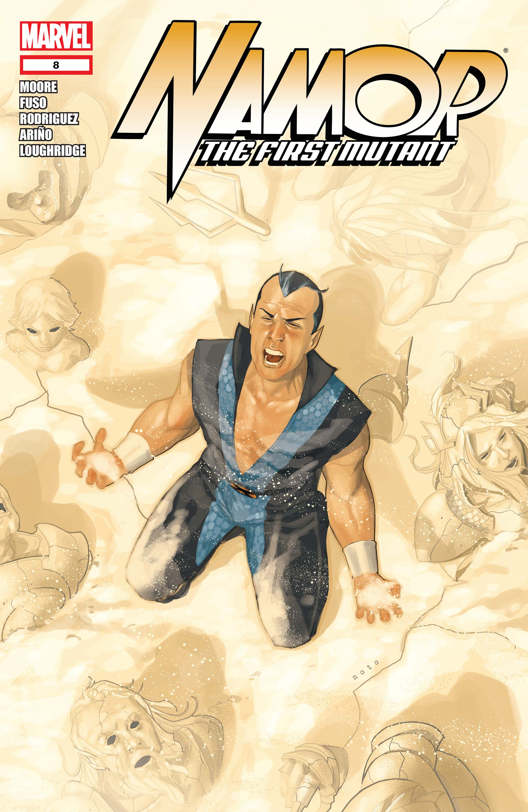 Namor: The First Mutant (2010) #8