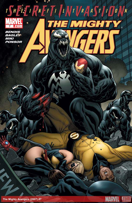 The Mighty Avengers (2007) #7