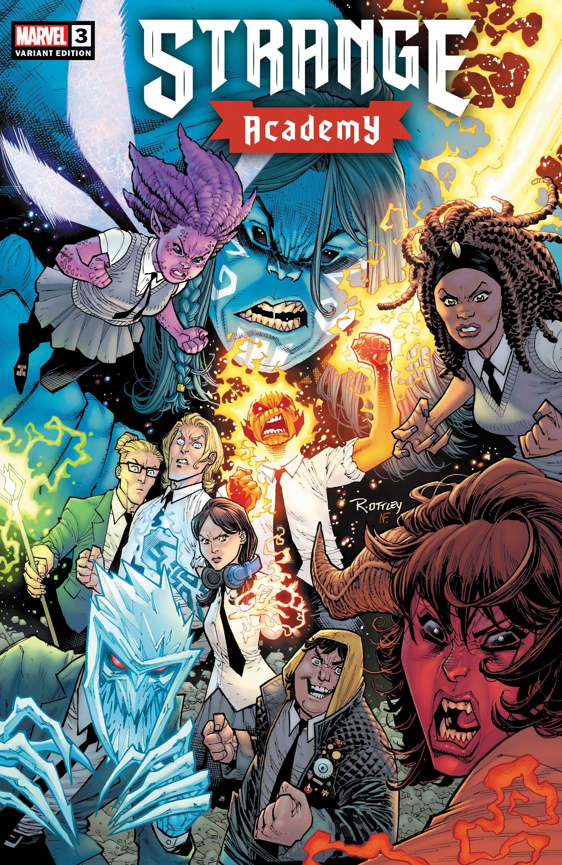 Strange Academy (2020) #3 (Variant)