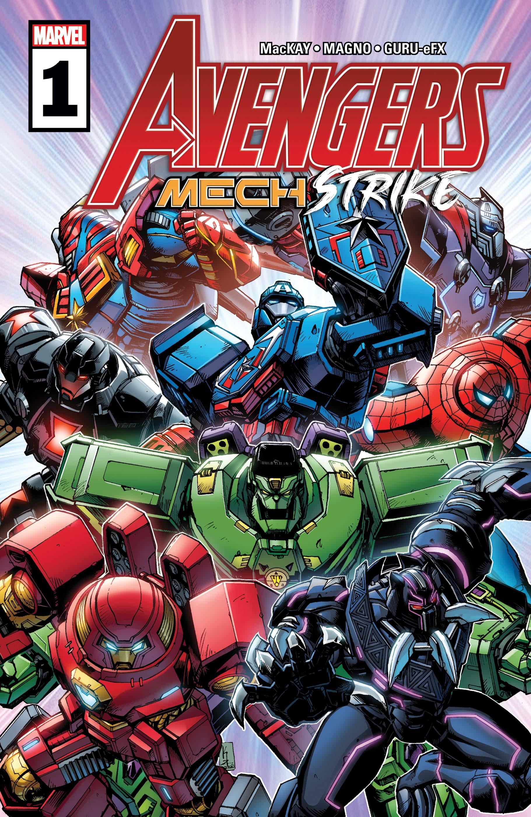 Avengers Mech Strike (2021) #1
