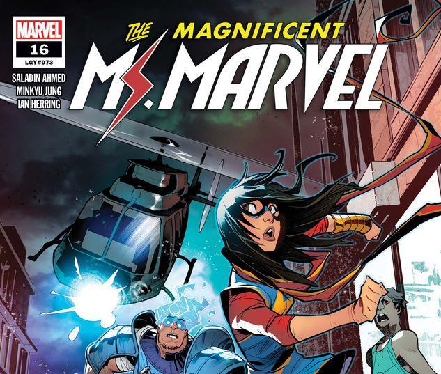 Magnificent Ms. Marvel #16