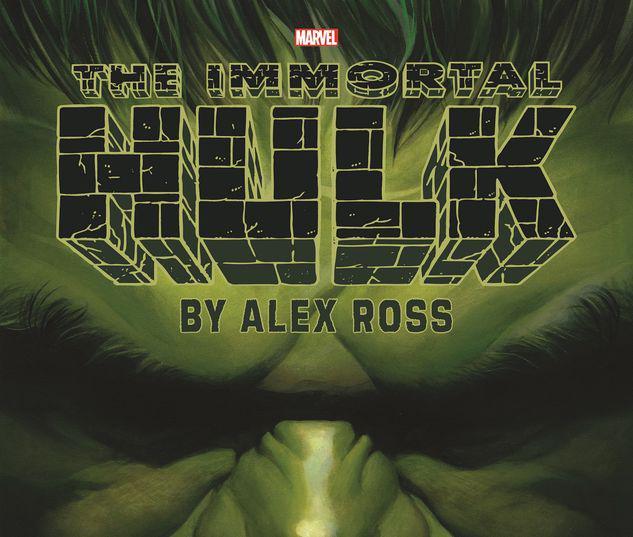 IMMORTAL HULK BY ALEX ROSS POSTER BOOK TPB #1