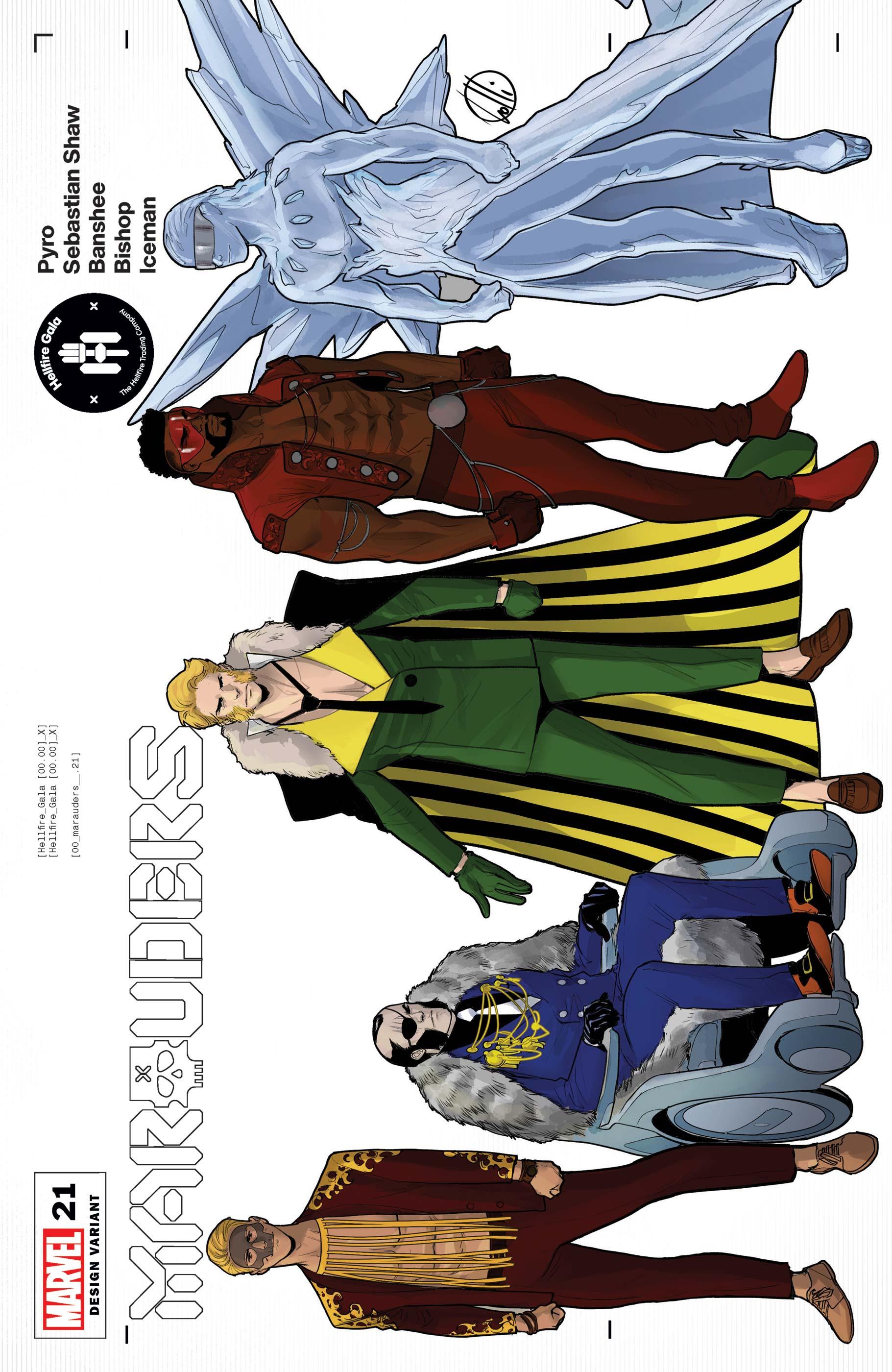 Marauders (2019) #21 (Variant)