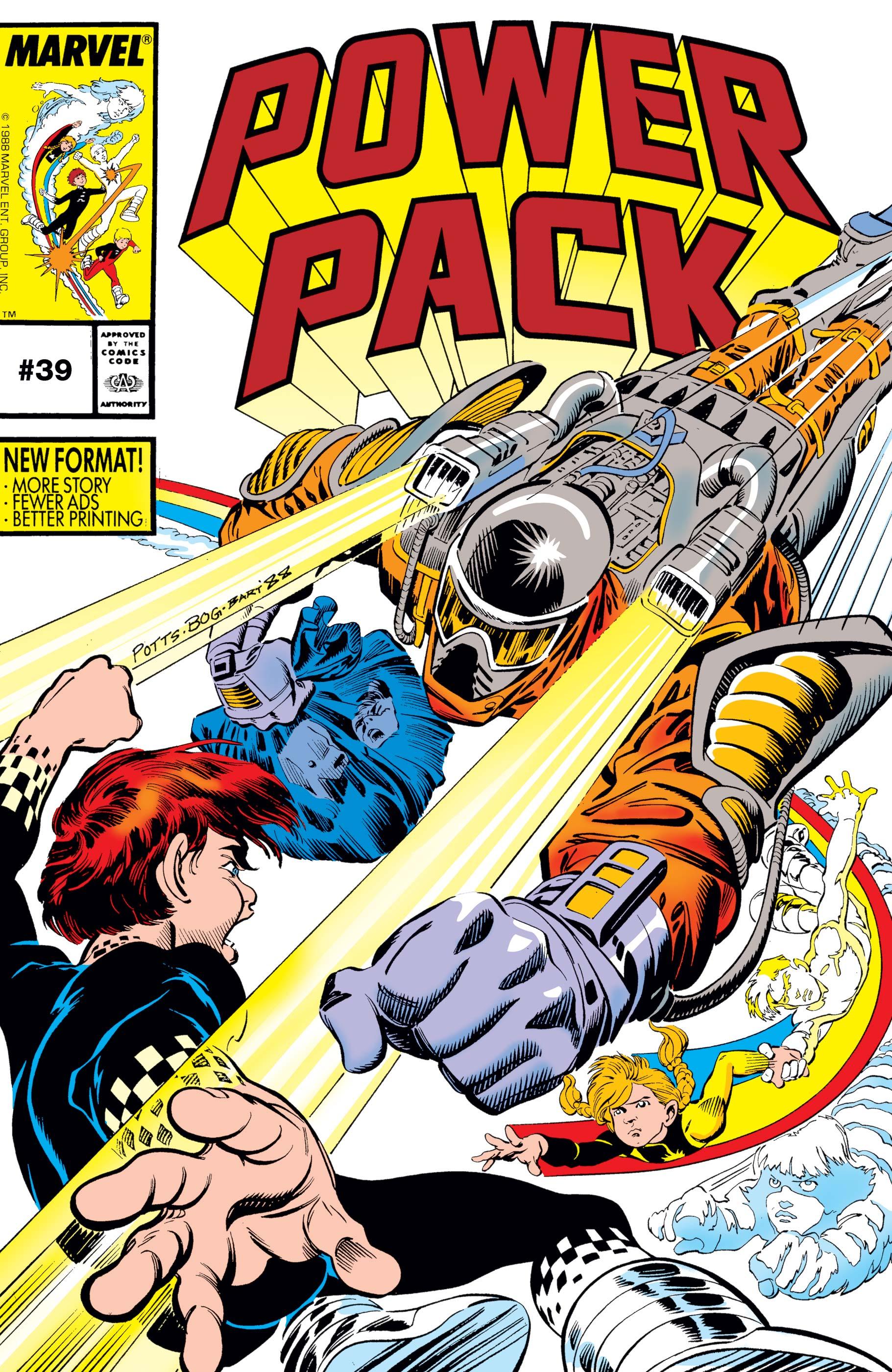 Power Pack (1984) #39