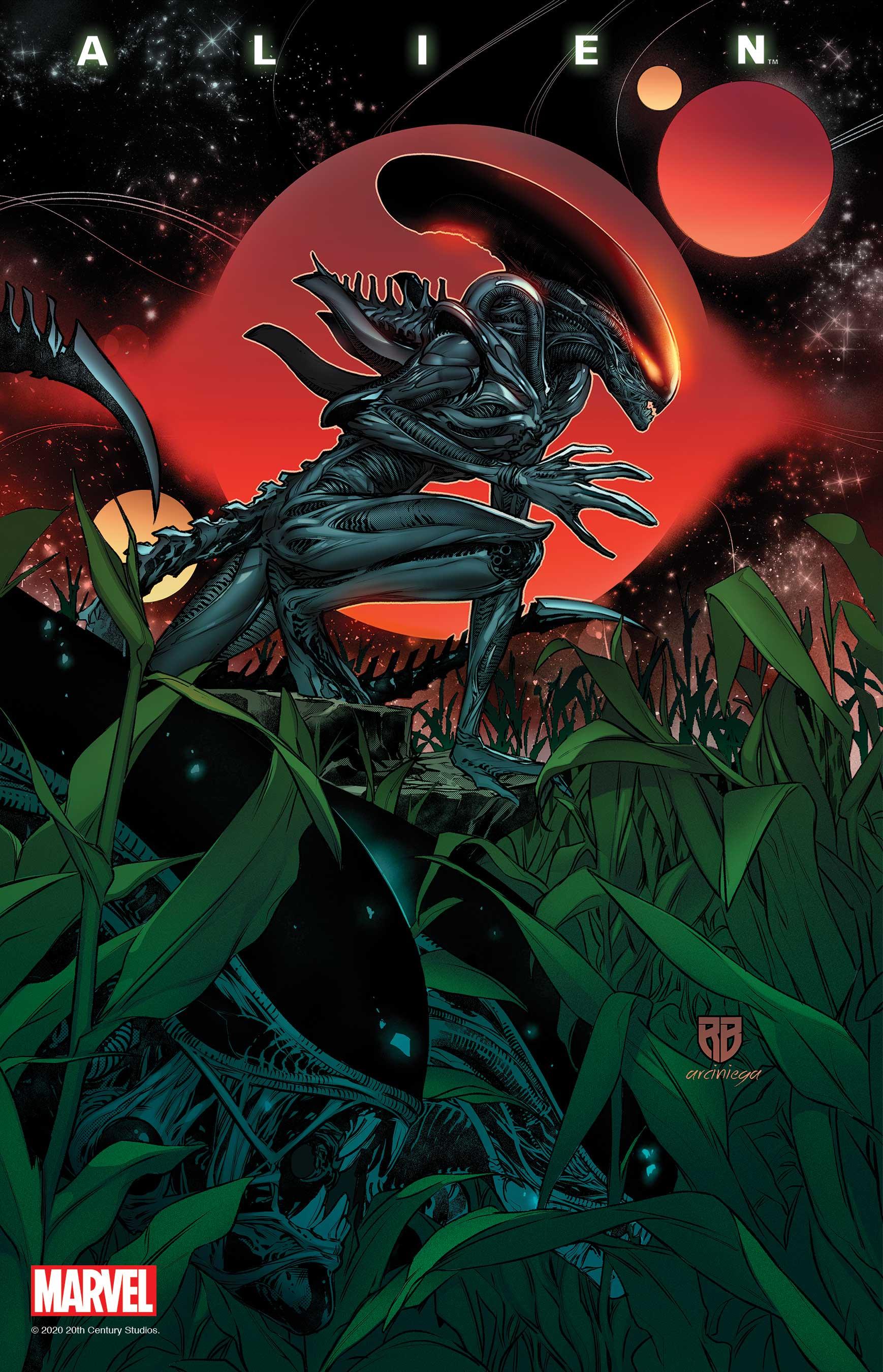 Alien (2021) #8 (Variant)