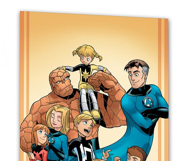 FANTASTIC FOUR AND POWER PACK: FAVORITE SON #0